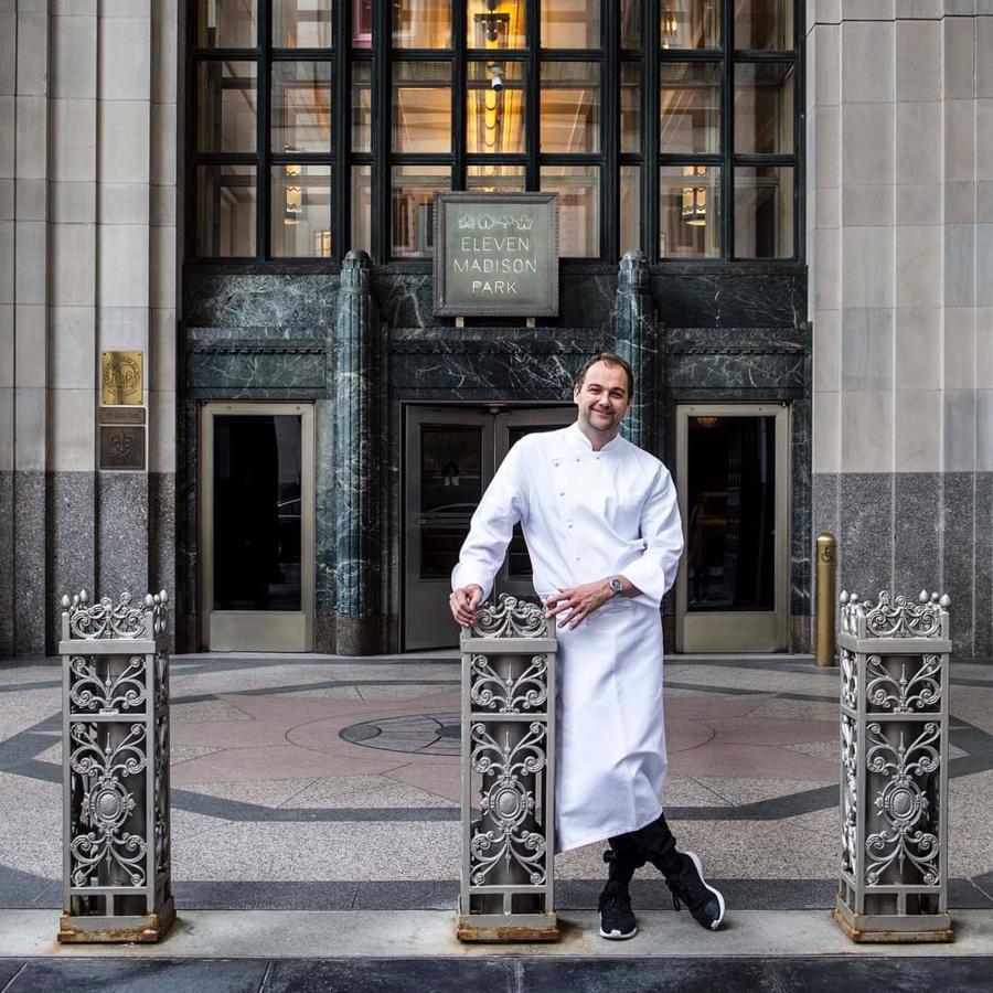 Daniel Humm vừa là bếp trưởng vừađồng sở hữu nhà hàng.