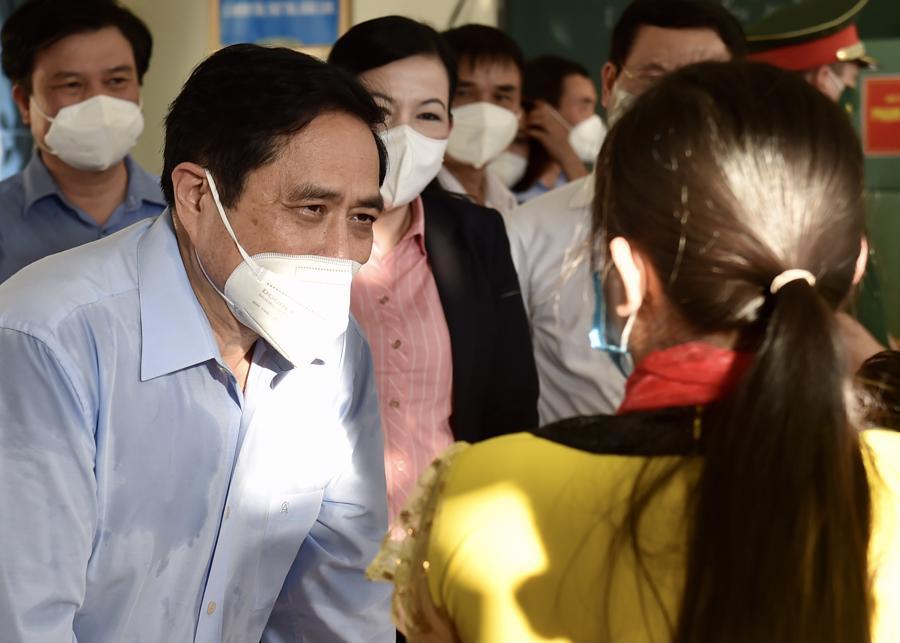 Chùm ảnh Thủ tướng thăm và làm việc tại Thái Nguyên - Ảnh 10