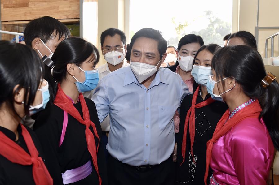 Chùm ảnh Thủ tướng thăm và làm việc tại Thái Nguyên - Ảnh 11