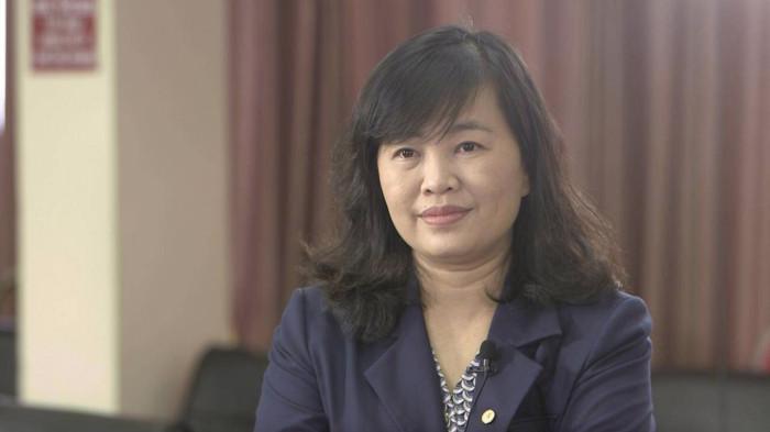 Bà Phan Thị Thuỳ Dương, Giám đốc Trung tâm phát triển trạm pin VinFast.