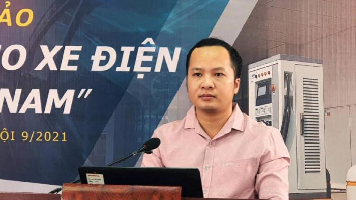 Ông Trần Duy Chinh, đại diện Hiệp hội Các nhà sản xuất xe máy Việt Nam (VAMM).