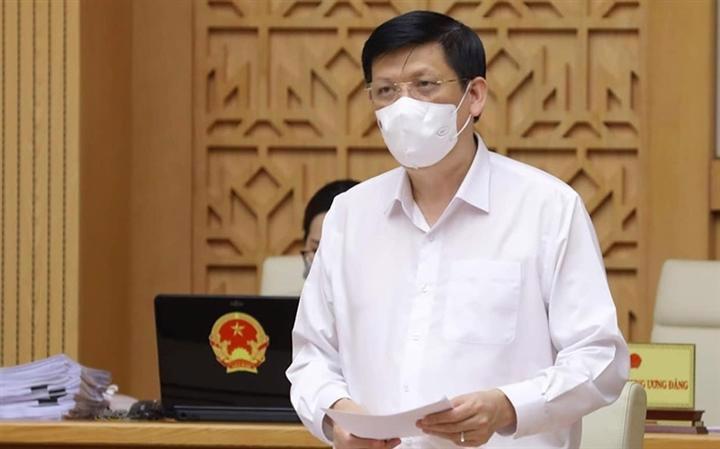 Bộ trưởng Y tế Nguyễn Thanh Long. Ảnh: VGP.