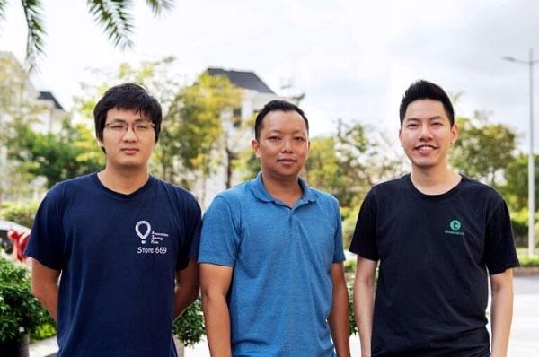 Ba nhà đồng sáng lập BuyMed: Hoàng Nguyễn, Peter Nguyễn và Vương Đình Vũ (Từ trái qua phải). Ảnh: BuyMed.