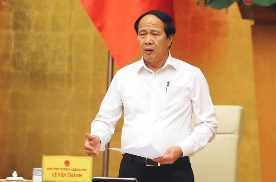 Phó Thủ tướng Lê Văn Thành - Ảnh: VGP