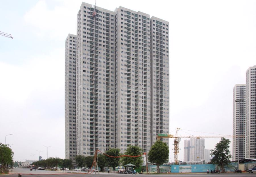 Imperia Smart City đã hoàn thiện xây thô giai đoạn 1.