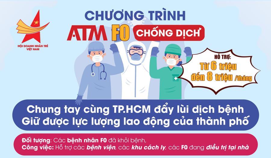 Kêu gọi F0 đã khỏi bệnh tham gia chống dịch có hỗ trợ phí từ Hội doanh nhân trẻ Việt Nam