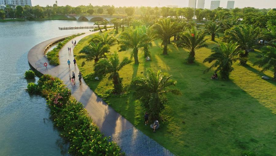 Báo Mỹ ấn tượng với Ecopark có lượng cây xanh gấp 50 lần công viên lớn nhất Mỹ - Ảnh 2