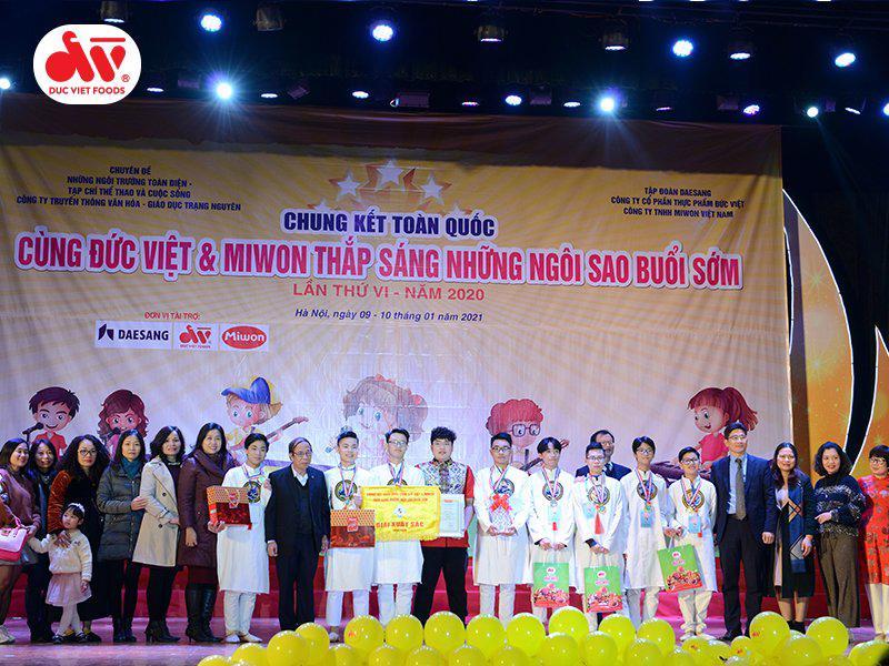 Thực phẩm Đức Việt tổ chức hai cuộc thi online lần thứ VII - 2021 - Ảnh 1