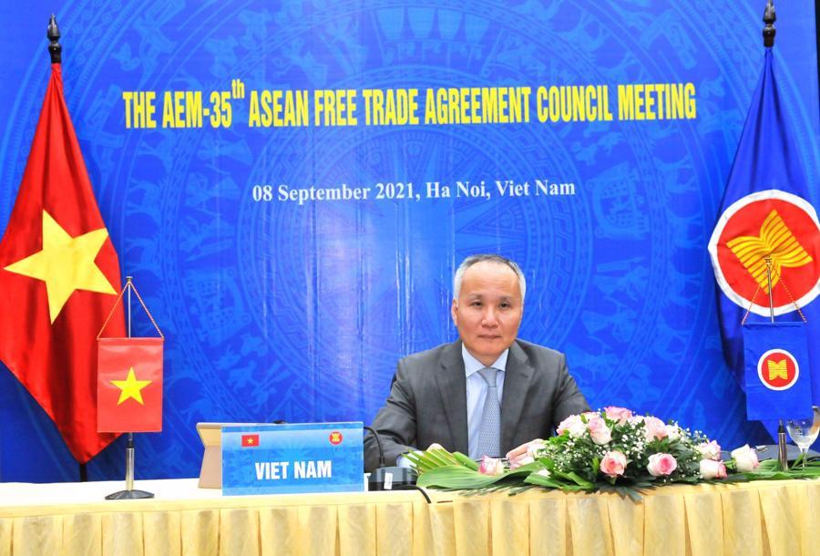 Thứ trưởng Bộ Công Thương Trần Quốc Khánh làm Trưởng đoàn Việt Nam
