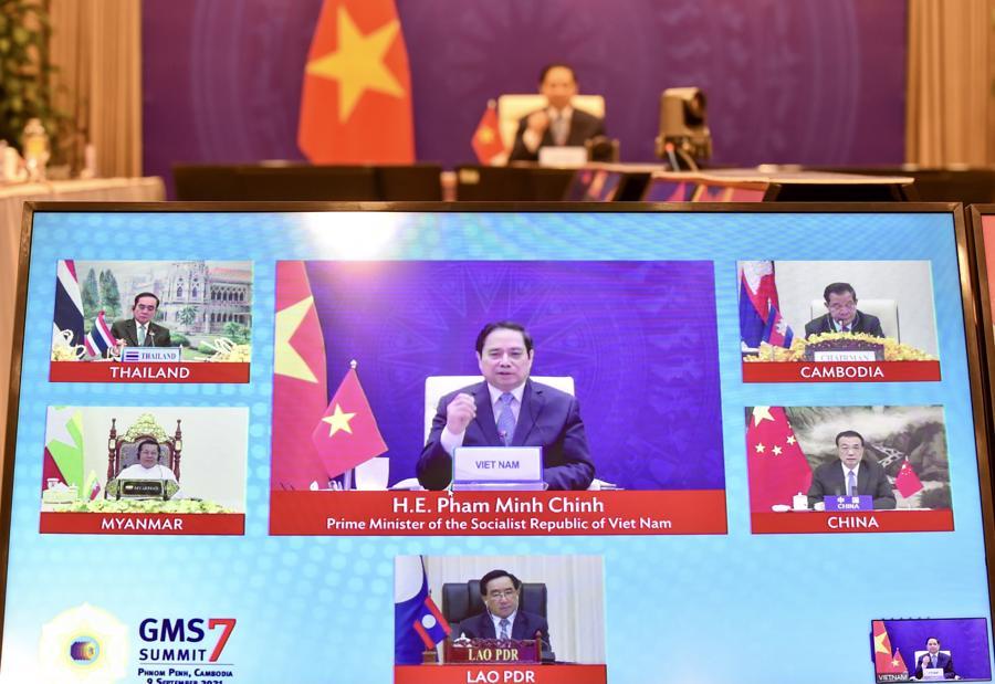 Hội nghị Thượng đỉnh Hợp tác Tiểu vùng Mekong mở rộng 8 sẽ được tổ chức tại Trung Quốc vào năm 2024 - Ảnh: VGP/Đoàn Bắc