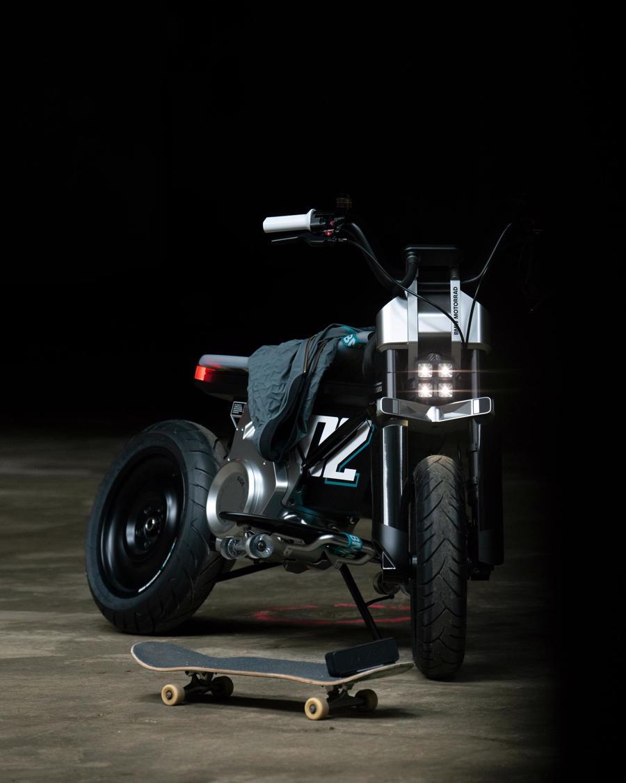 Cận cảnh chiếc mô tô điện cỡ nhỏ đặc biệt của BMW Motorrad - Ảnh 7