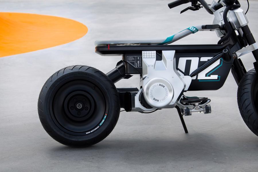 Cận cảnh chiếc mô tô điện cỡ nhỏ đặc biệt của BMW Motorrad - Ảnh 11