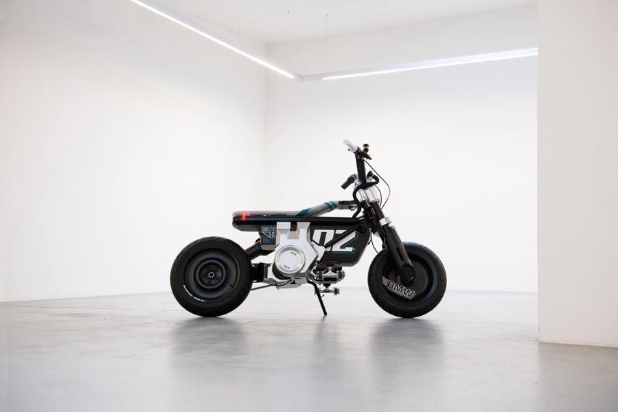 Cận cảnh chiếc mô tô điện cỡ nhỏ đặc biệt của BMW Motorrad - Ảnh 3