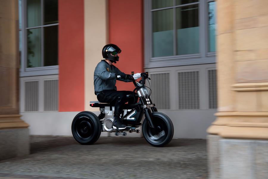 Cận cảnh chiếc mô tô điện cỡ nhỏ đặc biệt của BMW Motorrad - Ảnh 4