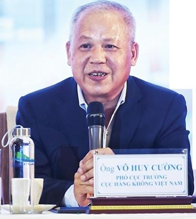 Ông Võ Huy Cường, Phó Cục trưởng Cục Hàng không Việt Nam.