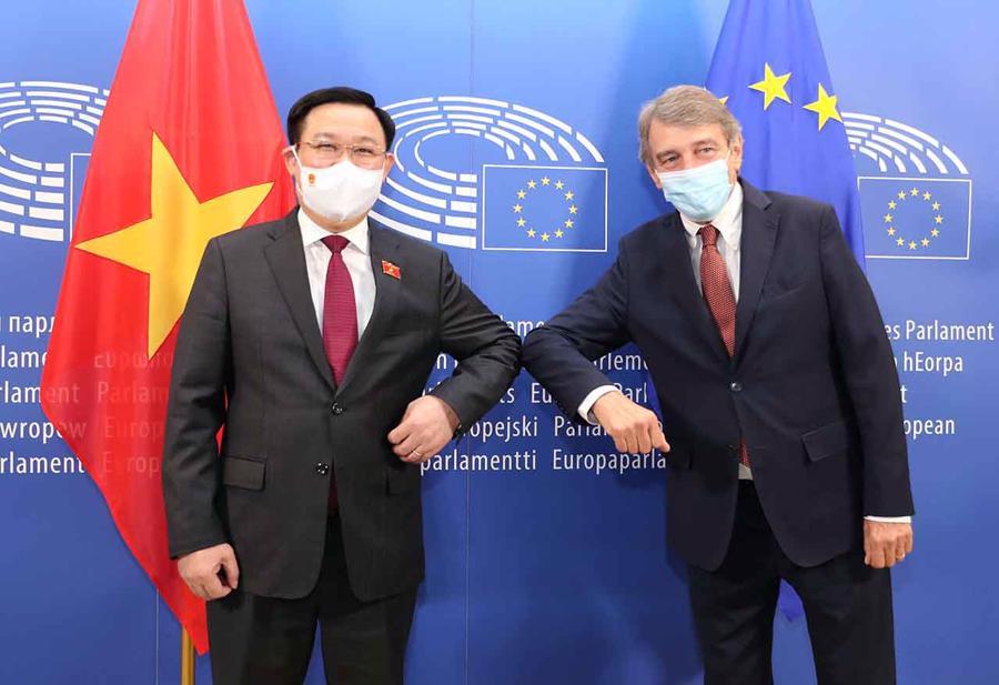 Chủ tịch Quốc hội kết thúc tốt đẹp chuyến thăm châu Âu, đạt nhiều kết quả ngoại giao vaccine - Ảnh 3