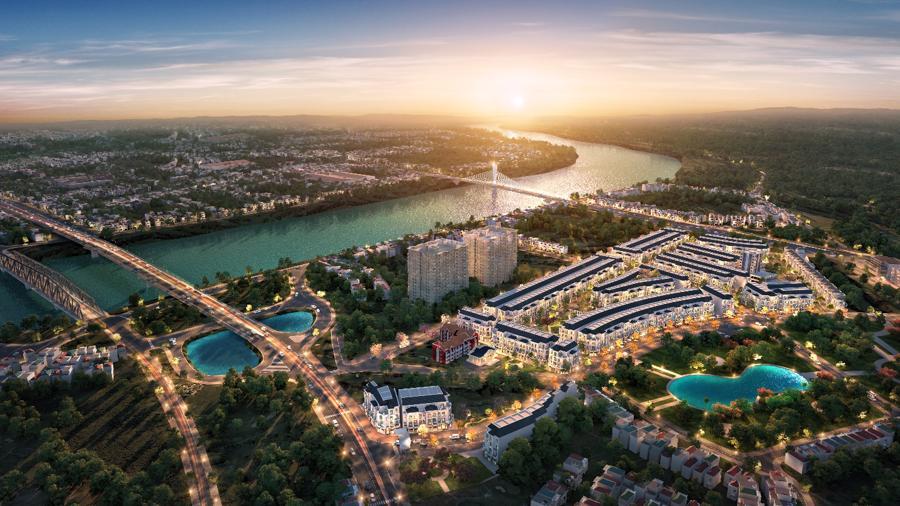 Sự phát triển và mở rộng các khu công nghiệp là lợi thế lớn để Bắc Giang phát triển bất động sản thương mại và nhà ở.