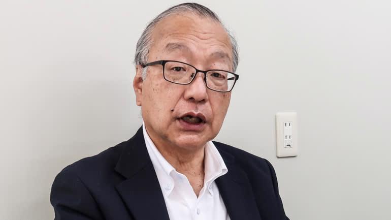 Ông Shozo Saito, cựu Tổng giám đốc tập đoàn Toshiba - Ảnh: Nikkei Asia
