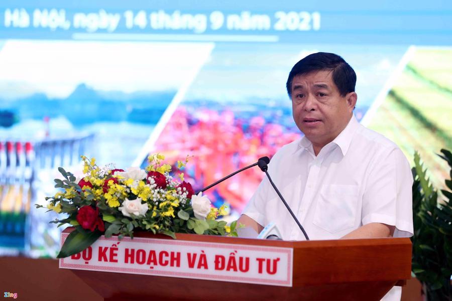 Bộ trưởng Nguyễn Chí Dũng phát biểu kết luận hội nghị.