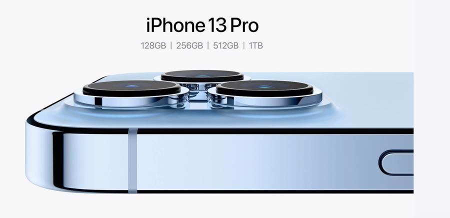 Nâng cấp camera, thêm dung lượng 1TB cho phiên bản iPhone 13 Pro/Pro Max