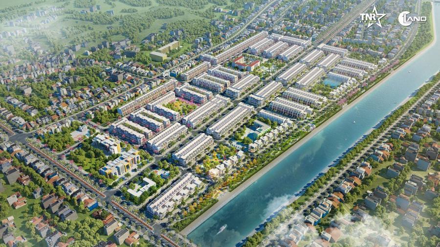 TNR Stars Bỉm Sơn là dự án bất động sản quy mô và đồng bộ đầu tiên tại Bỉm Sơn.