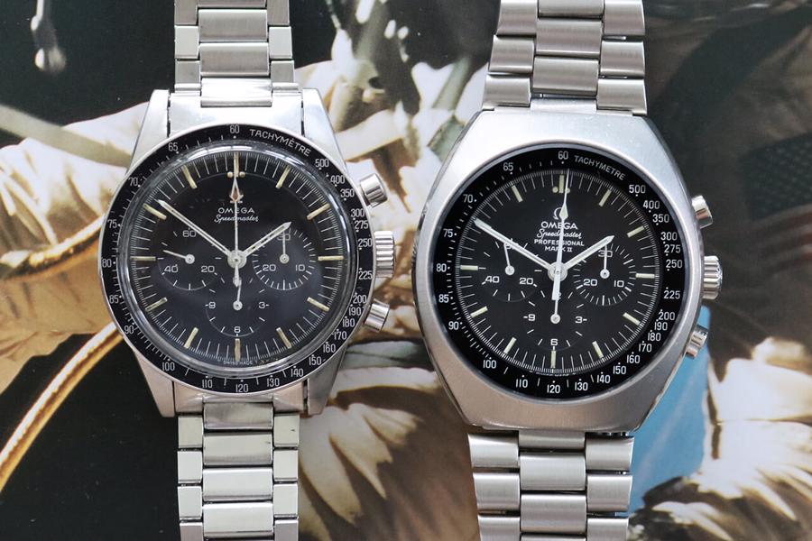Hai mẫu đồng hồ đáng để đầu tư của Omega:Omega Speedmaster 1969 và Omgea Speedmaster Mark II Ref. 145.014.