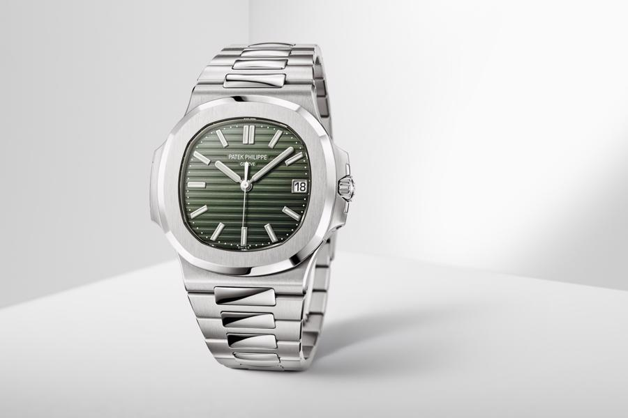Patek Philippe Nautilus Green Ref. 5771/1A được coi là mẫu đồng hồ đáng để đầu tư nhất năm 2021.
