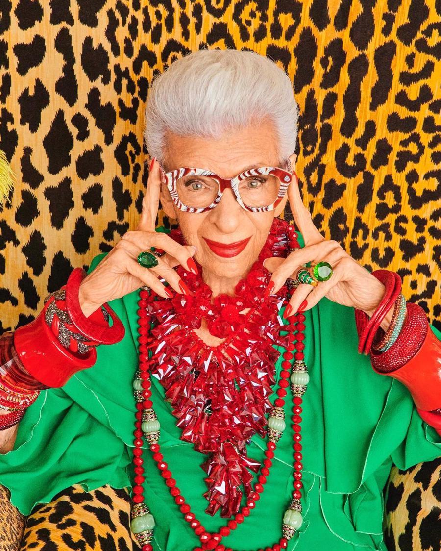 H&Mhợp tác với ngôi sao thời trang 100 tuổi Iris Apfel, kết quả sẽ là gì? - Ảnh 1