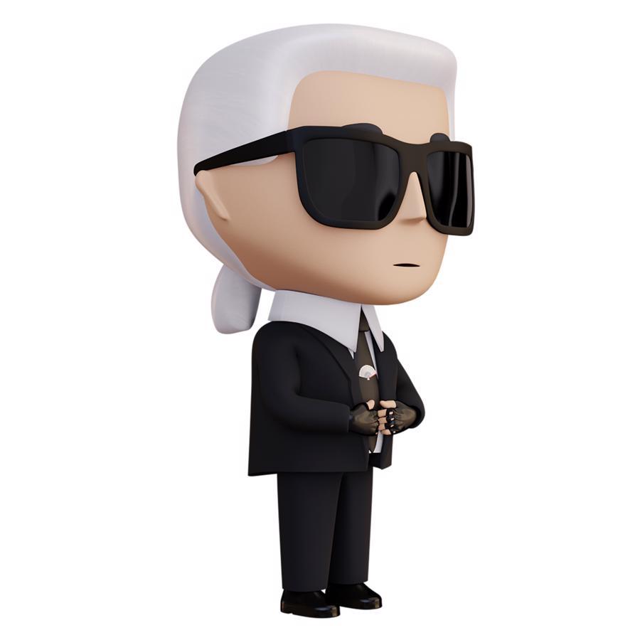 Karl Lagerfeld ra mắt bộ sưu tập sử dụng công nghệ blockchain - Ảnh 3
