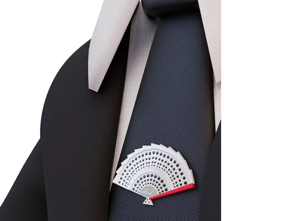 Karl Lagerfeld ra mắt bộ sưu tập sử dụng công nghệ blockchain - Ảnh 2