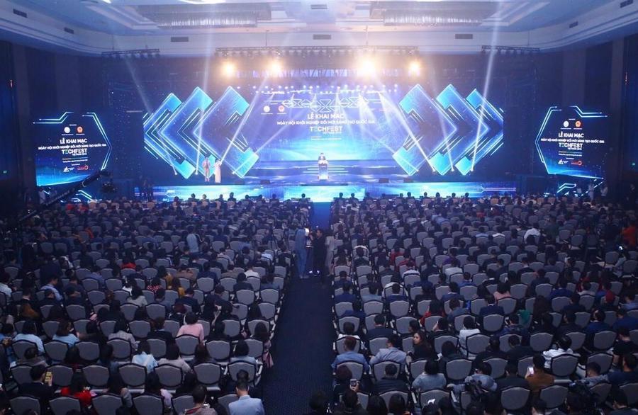 """Nhiều """"làng công nghệ"""" mới xuất hiện tại Techfest Việt Nam 2021 - Ảnh 1"""
