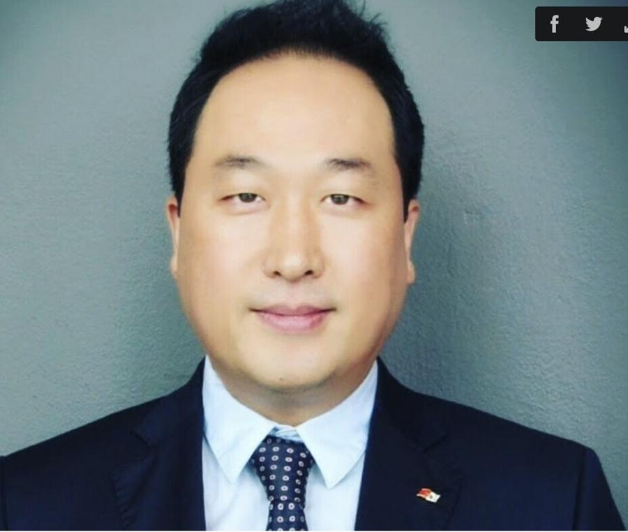 Ông Hongsun, Phó Chủ tịch Kocham tại Việt Nam.
