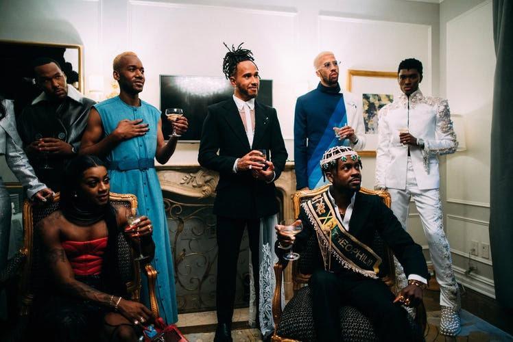 Lewis Hamilton quyết định tặng cơ hội tham dự bữa tiệc thời trang lớn nhất hành tinh cho các nhà thiết kế da màu mới nổi.