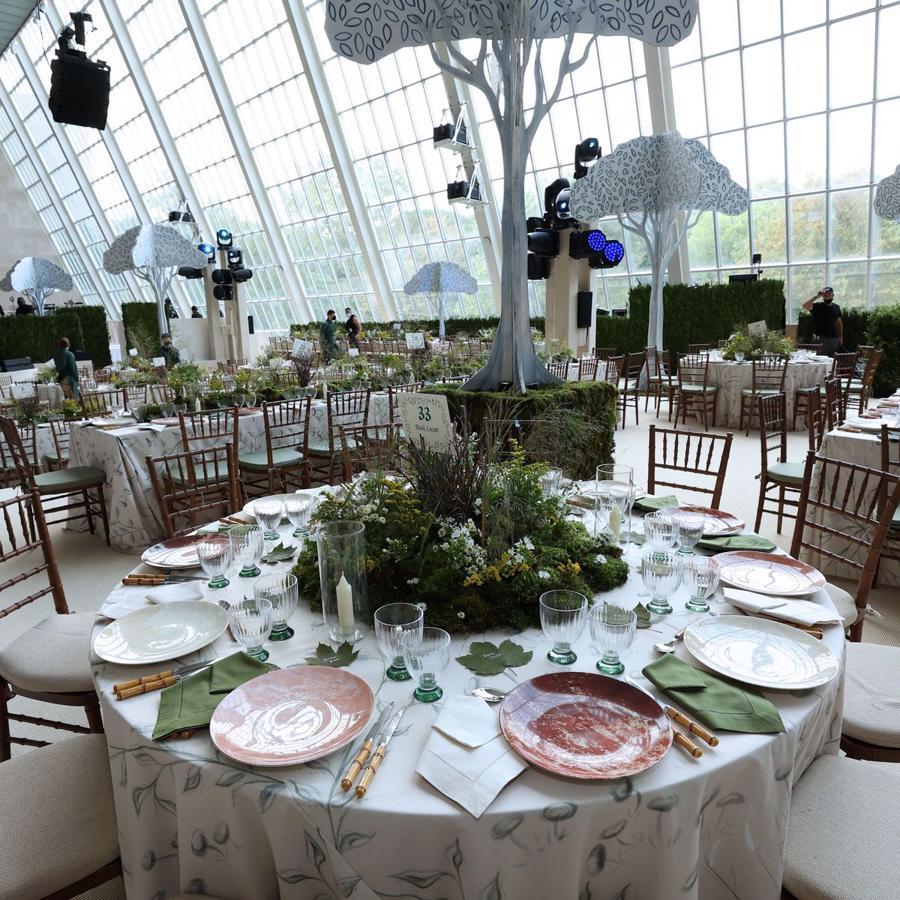 Quang cảnh nơi diễn ra bữa tiệc tối gây quỹ Met Gala năm nay.