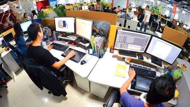 Nhân sự công nghệ thông tin có nhiều cơ hội việc làm. Ảnh minh họa.