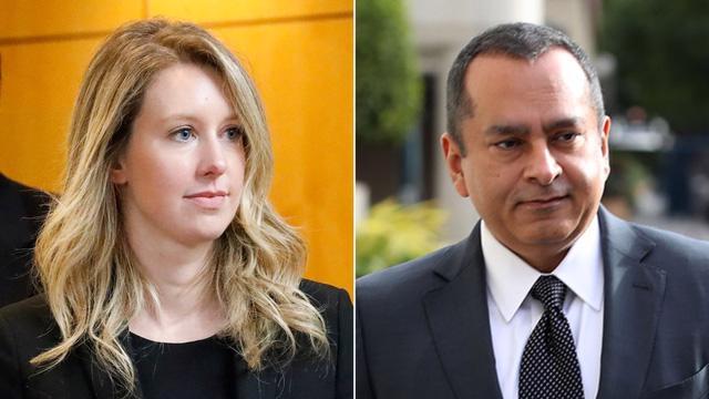 """Elizabeth Holmes, người từng được ví như """"Steve Jobs phiên bản nữ"""" và bạn trai hiện đang phải hầu tòa với tội danh lừa đảo các nhà đầu tư và bệnh nhân."""