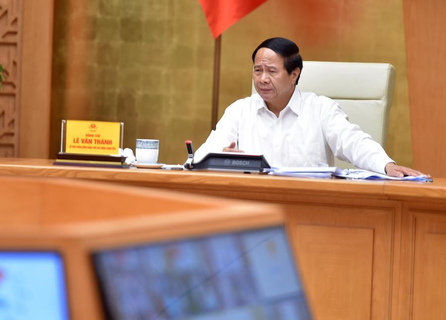 Phó Thủ tướng Lê Văn Thành tại hội nghị. Ảnh: VGP.