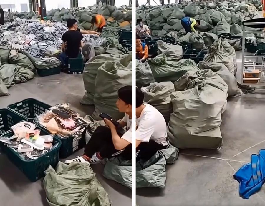Quang cảnh bên trong một số xưởng may gia công của Shein tại Quảng Châu đượctờ Sixth Tone tiết lộ.