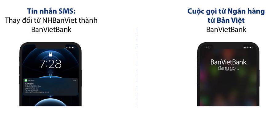Bản Việt tiên phong triển khai hiển thị tên ngân hàng khi gọi đến khách hàng - Ảnh 1