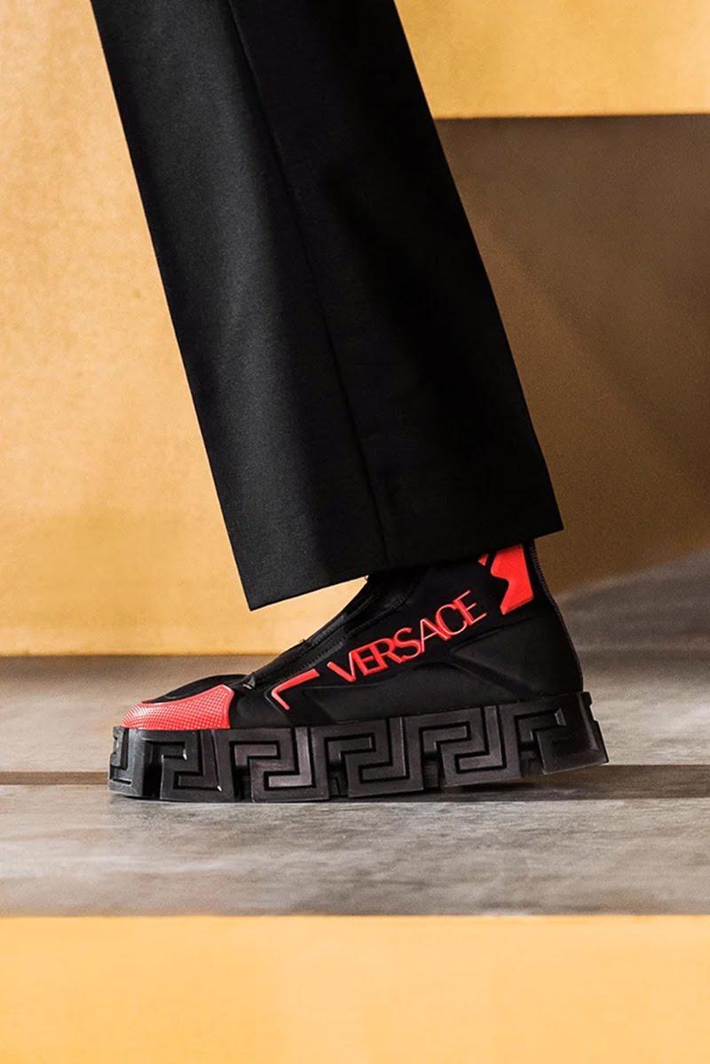 BST thu đông của Versace thanh lịch với hoạ tiết monogram La Greca - Ảnh 15