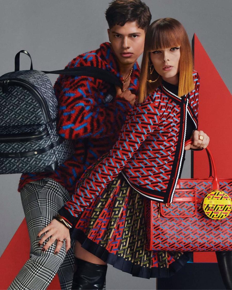 BST thu đông của Versace thanh lịch với hoạ tiết monogram La Greca - Ảnh 13