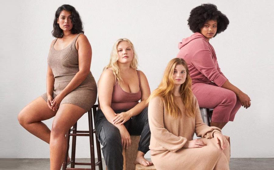 Trước sự thay đổi của quan điểm về cái đẹp, nhiều thương hiệu thời trang đã mở rộng kích cỡ sản phẩm của mình.