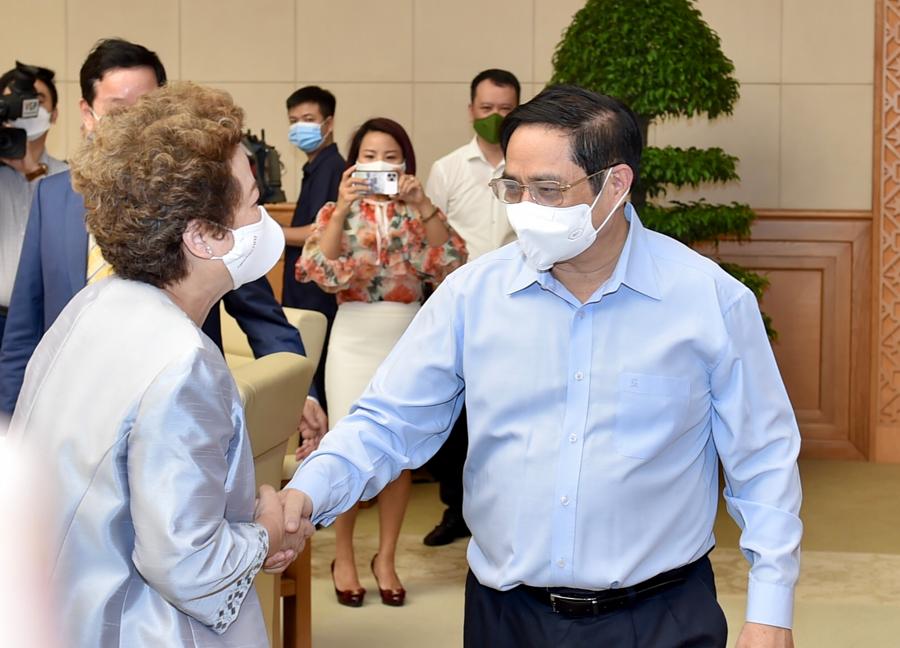 Thủ tướng Phạm Minh Chính và các đại biểu dự hội nghị - Ảnh: VGP