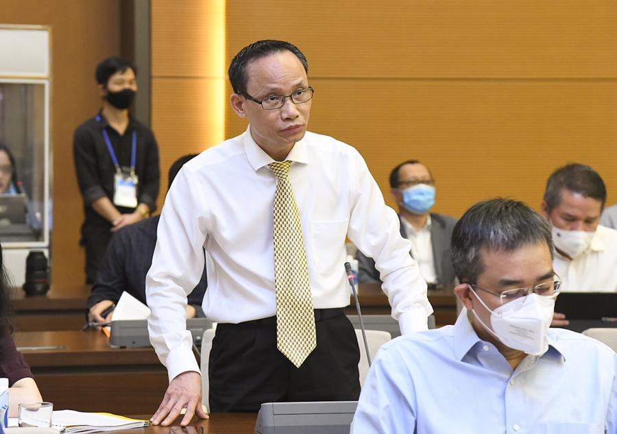 TS.Cấn Văn Lực - Chuyên gia kinh tế trưởng Ngân hàng BIDV - Ảnh: Quochoi.vn