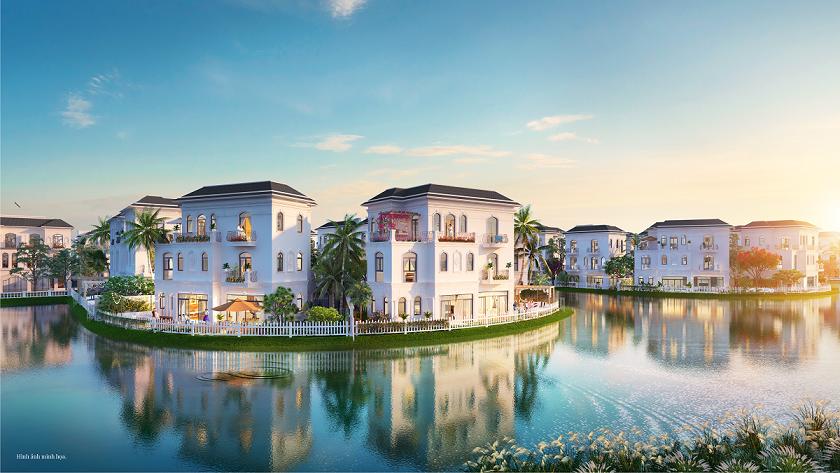 Phân khu Hướng Dương được kiến tạo theo phong cách resort Venice với những căn biệt thự tinh tế bên những dòng kênh đào, mang đến không gian sống đẳng cấp hàng đầu.