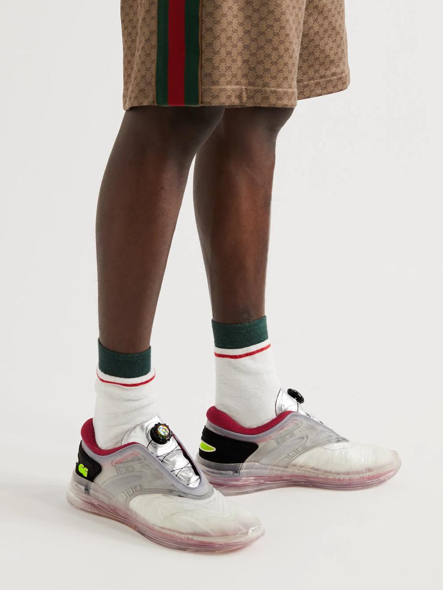 Gucci ra mắt phiên bản Ultrapace R trong suốt như đến từ tương lai - Ảnh 1