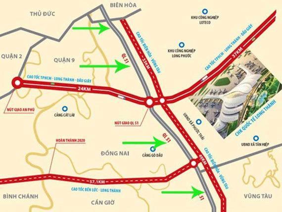 Mạng lưới giao thông phát triển mạnh tại Bà Rịa - Vũng Tàu tạo cú hích tăng giá cho bất động sản khu vực.