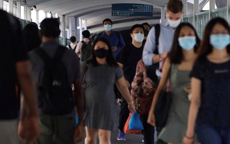 Số ca nhiễm tại Singapore tăng kỷ lục những ngày gần đây - Ảnh: Reuters