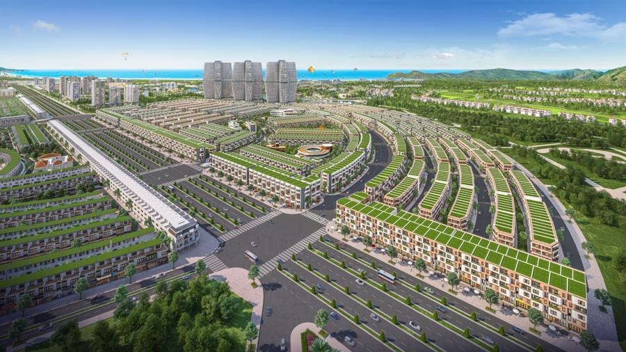 Đô thị vàng ven biển Nhơn Hội New City là điểm đến lý tưởng cho mô hình đầu tư landcation.