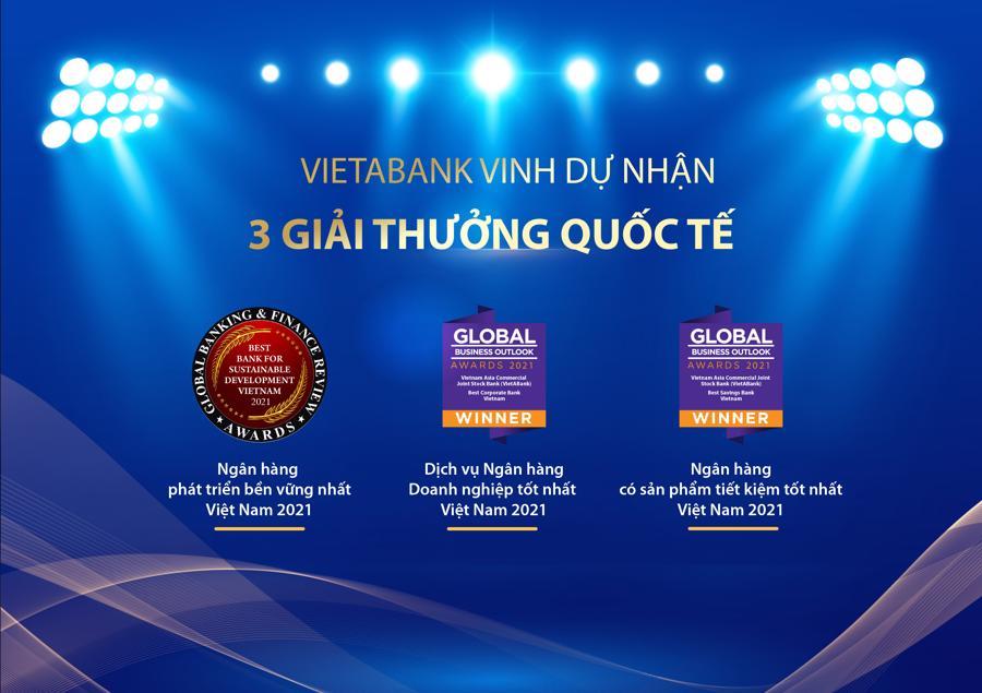 Ngân hàng Việt Á (VAB) liên tiếp đón nhận giải thưởng quốc tế uy tín - Ảnh 1
